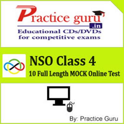 Practice Guru NSO Class 4 - 10 Full Length MOCK Online Test(Voucher)