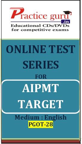 Practice Guru AIPMT Target Online Test(Voucher)