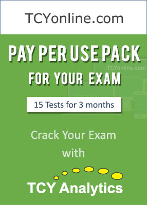 TCYonline Pay Per Use Pack Online Test(Voucher)