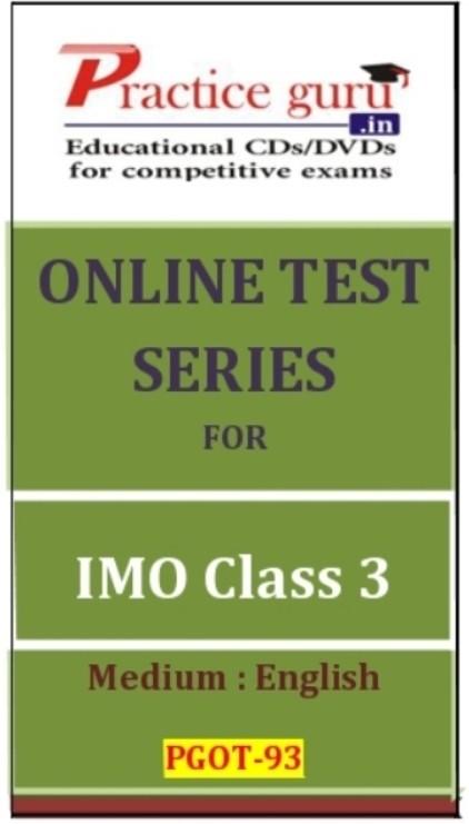 Practice Guru Series for IMO Class 3 Online Test(Voucher)