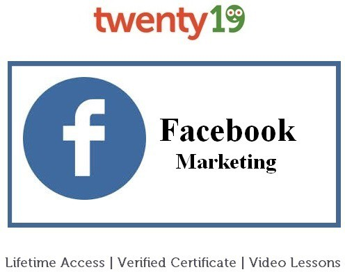 Twenty19 Facebook Marketing for Beginners Certification Course(Voucher)