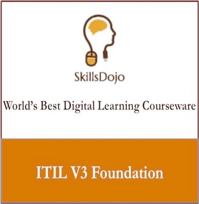 SkillsDojo ITIL V3 Foundation Certification Course(Voucher)