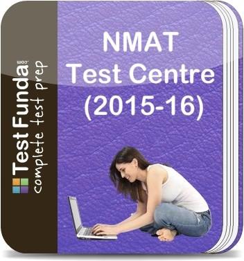 Test Funda NMAT Test Centre (2015 - 16) Online Test(Voucher)