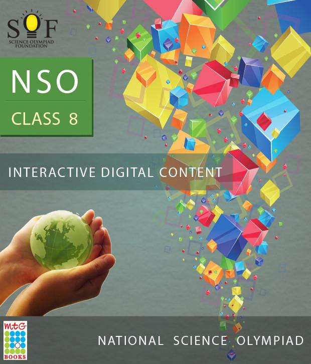 MTG NSO Class 8 - Interactive Digital Content Online Test(Voucher)