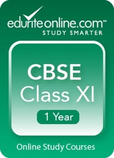 Edurite CBSE Class 11 : 1 Year Online Course(Voucher)