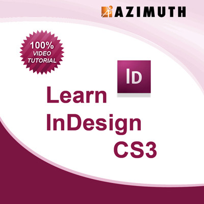 Azimuth Learn InDesign CS3 Online Course(Voucher)