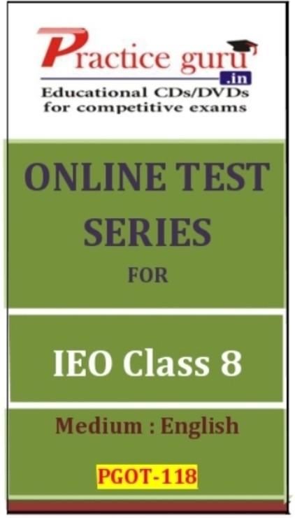 Practice Guru Series for IEO Class 8 Online Test(Voucher)