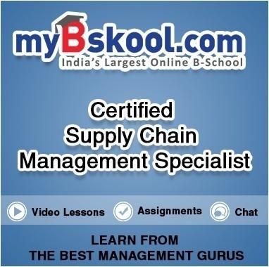 myBskool.com Certified Supply Chain Management Specialist Certification Course(Voucher)