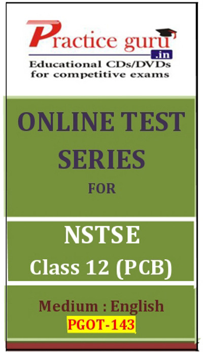Practice Guru Series for NSTSE Class 12 - PCB Online Test(Voucher)