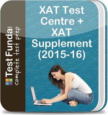 Test Funda XAT Test Centre + XAT Supplement (2015 - 16) Online Test(Voucher)