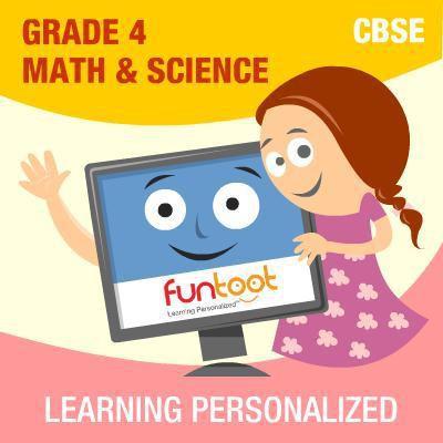 Funtoot CBSE - Grade 4 Maths & Science School Course Material(User ID-Password)