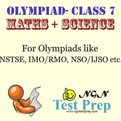 NGN Test Prep Olympiad - Maths + Science (Class 7) Online Test(Voucher)