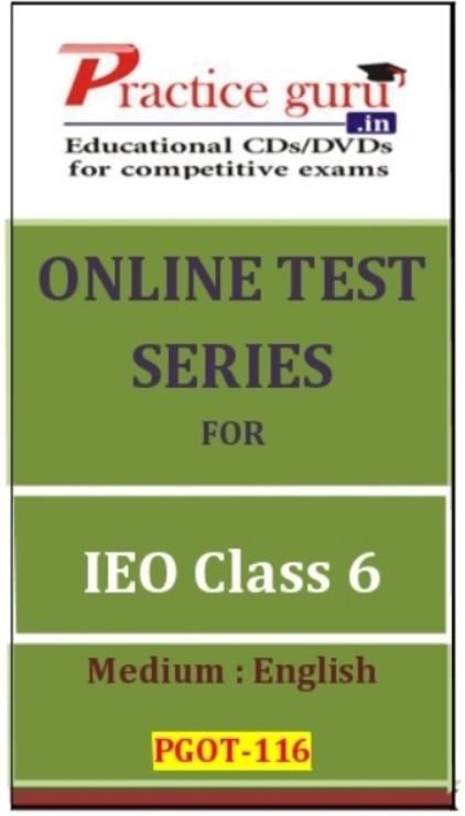 Practice Guru Series for IEO Class 6 Online Test(Voucher)