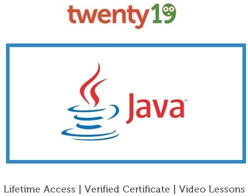 Twenty19 Java for Beginners Certification Course(Voucher)