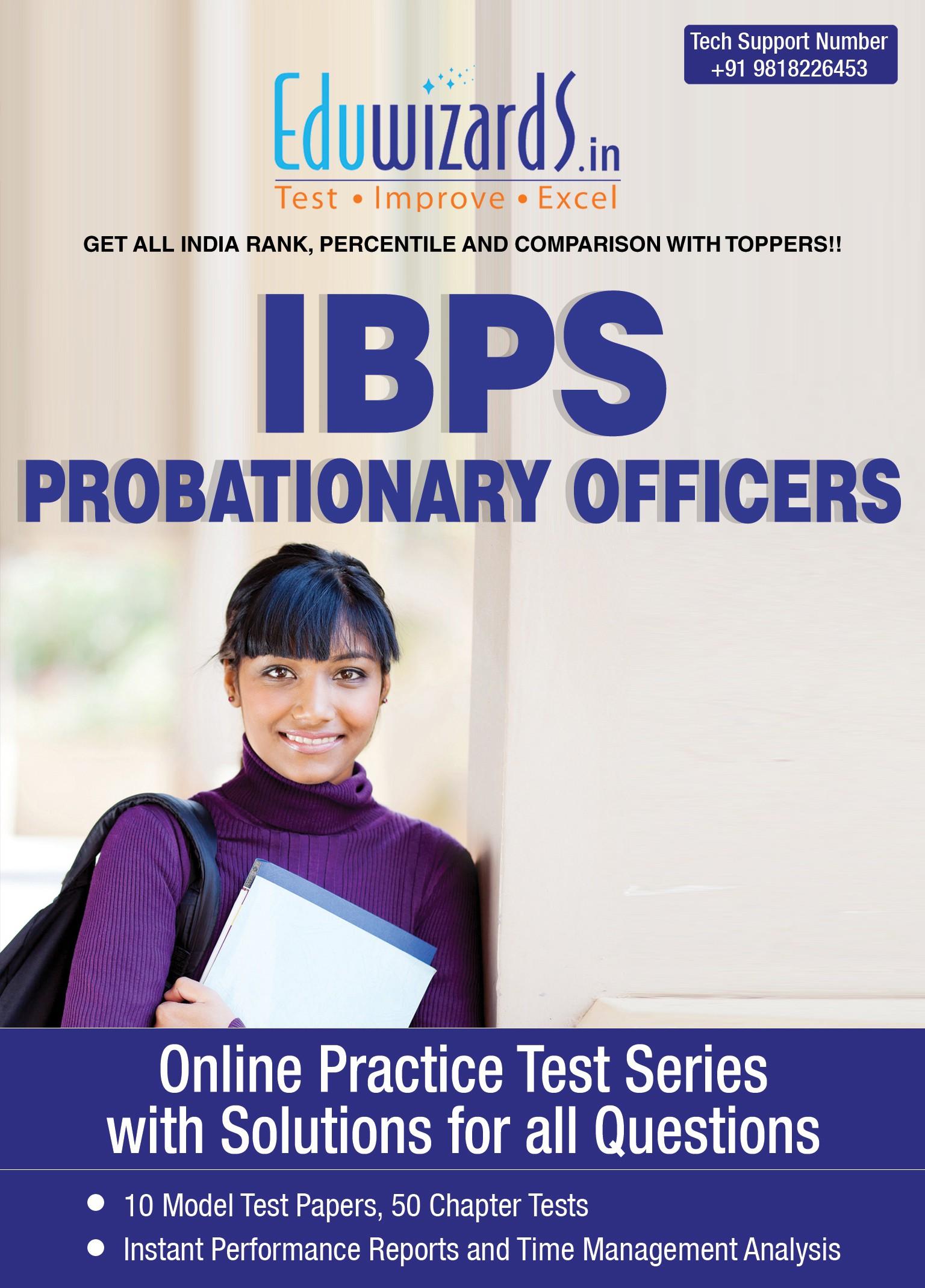 Eduwizards IBPS Bank PO Online Test Series Online Test(Voucher)
