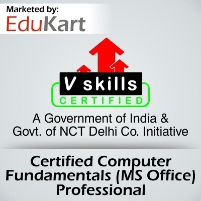 Vskills Certified Computer Fundamentals - MS Office Professional Certification Course(Voucher)