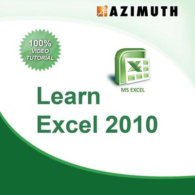 Azimuth Learn Excel 2010 Online Course(Voucher)