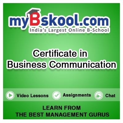 myBskool.com Certificate in Business Communication Certification Course(Voucher)