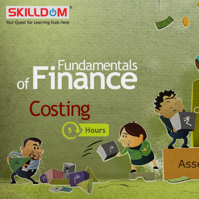 SKILLDOM Fundamentals of Finance : Costing Certification Course(User ID-Password)