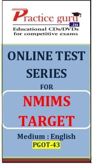 Practice Guru NMIMS Target Online Test(Voucher)