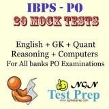 NGN Test Prep IBPS - PO : 20 Mock Tests ...
