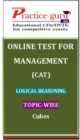 Practice Guru Management (CAT) Logical Reasoning Topic-wise - Cubes Online Test(Voucher)