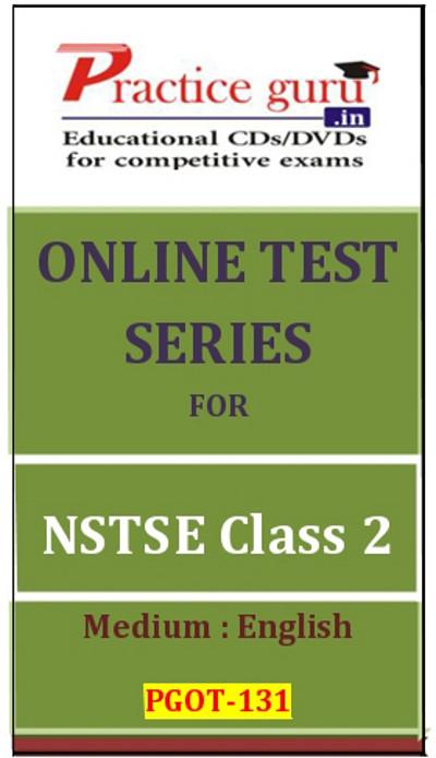 Practice Guru Series for NSTSE Class 2 Online Test(Voucher)