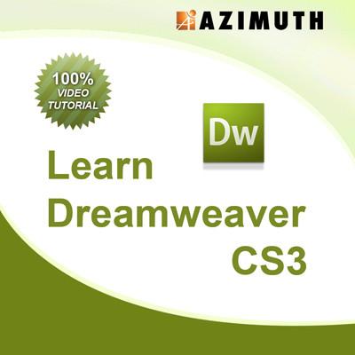 Azimuth Learn Dreamweaver CS3 Online Course(Voucher)