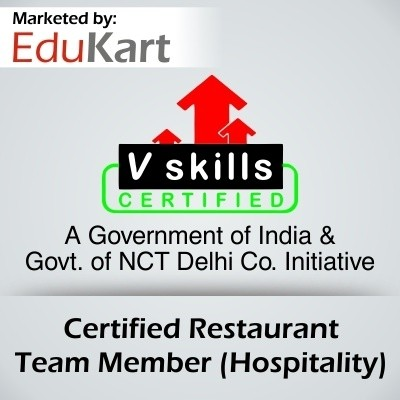Vskills Certified Restaurant Team Member - Hospitality Certification Course(Voucher)
