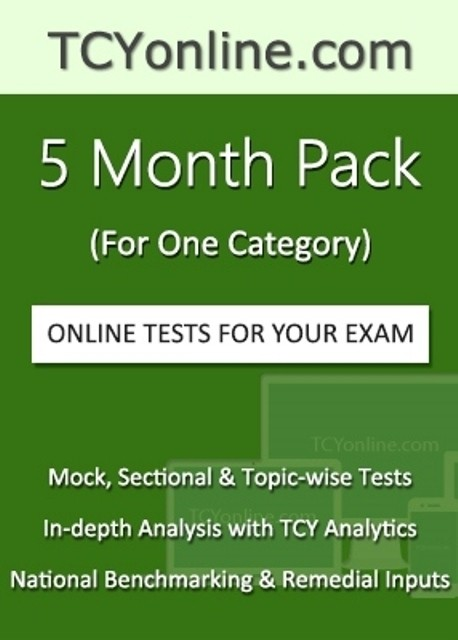 TCYOnline 5 Month Exam Prep Pack (1 Category) Online Test(Voucher)