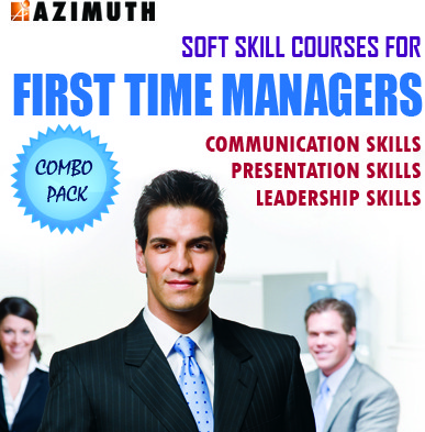 Azimuth Soft Skill Courses for First Time Managers - Communication Skills / Presentation Skills / Leadership Skills (Combo Pack) Online Course(Voucher)