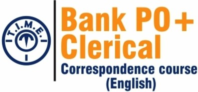 T.I.M.E. Bank PO + Clerical Correspondence Course Higher Education(Voucher)
