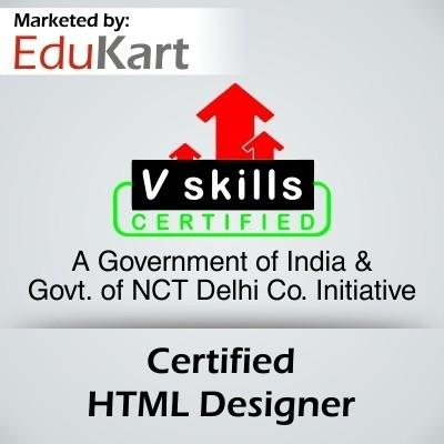 Vskills Certified HTML Designer Certification Course(Voucher)