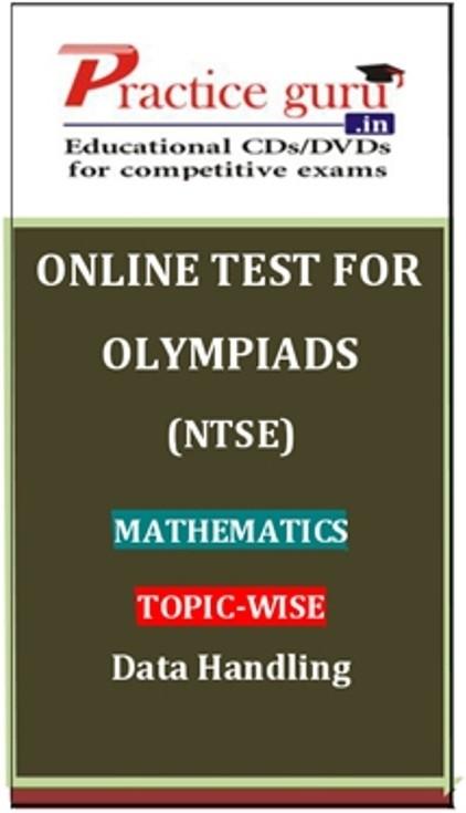 Practice Guru Olympiads (NTSE) Mathematics Topic-wise Data Handling Online Test(Voucher)