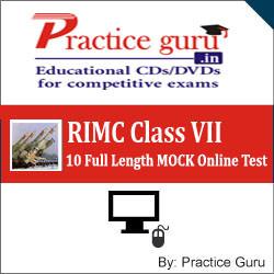 Practice Guru RIMC Class VII - 10 Full Length MOCK Online Test(Voucher)