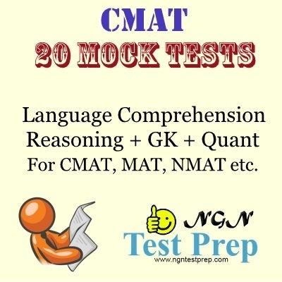 NGN Test Prep CMAT 20 Mock Tests Online Test(Voucher)