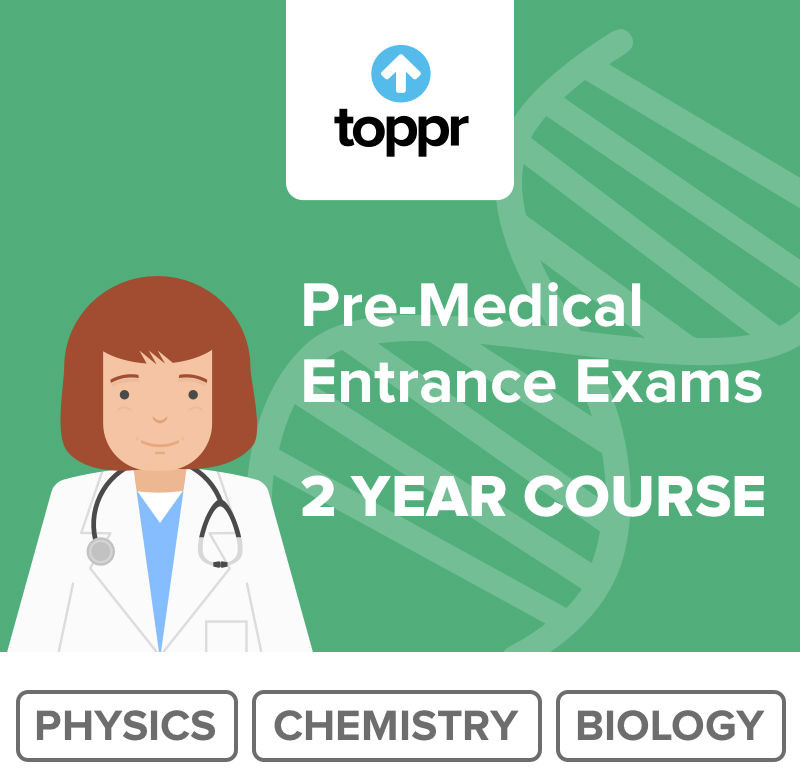 Toppr Pre Medical - 2 Year Course Online Test(Voucher)