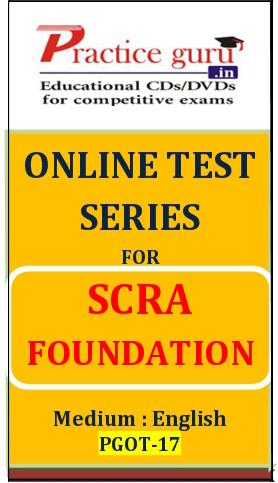 Practice Guru SCRA Foundation Online Test(Voucher)