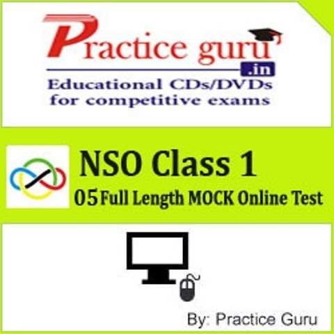 Practice Guru NSO Class 1 - 05 Full Length MOCK Online Test(Voucher)