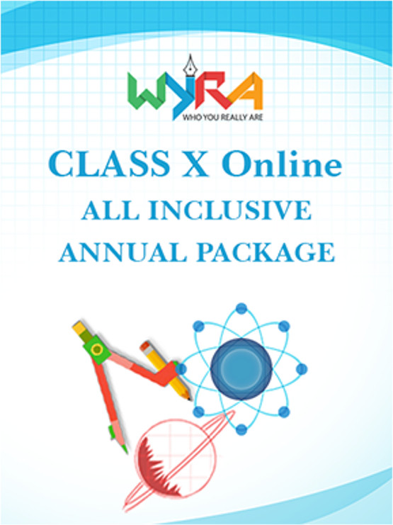 Wyra Class 10 - Online All Inclusive Annual Package School Course Material(Voucher)
