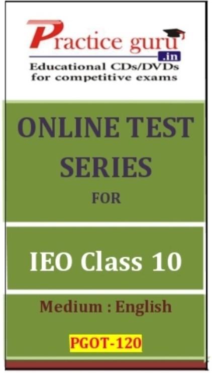 Practice Guru Series for IEO Class 10 Online Test(Voucher)