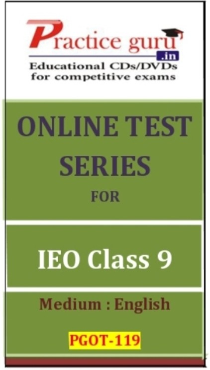 Practice Guru Series for IEO Class 9 Online Test(Voucher)
