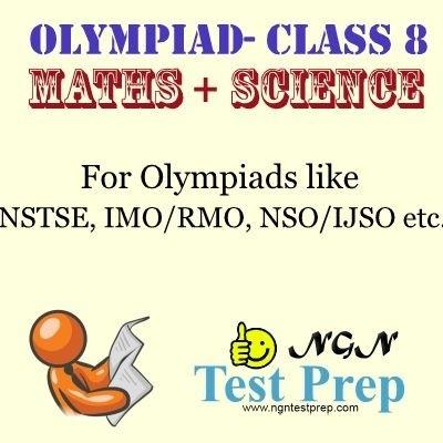 NGN Test Prep Olympiad - Maths + Science (Class 8) Online Test(Voucher)