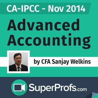 SuperProfs CA - IPCC Advanced Accounting by Sanjay Welkins (Nov 2014) Online Course(Voucher)