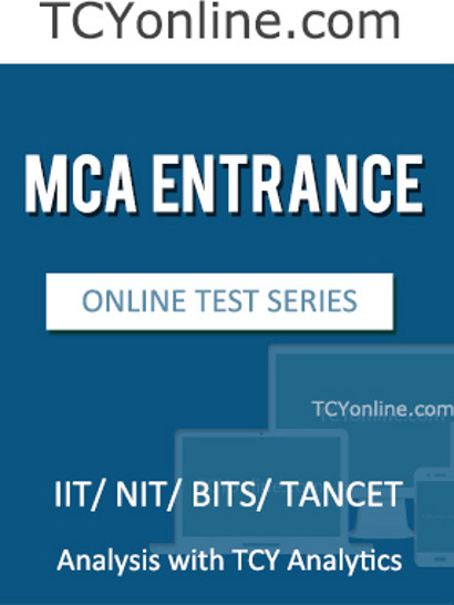 TCYonline MCA Entrance - Analysis with TCY Analytics (6 Months Pack) Online Test(Voucher)