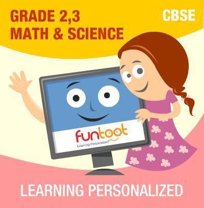 Funtoot CBSE - Grade 2, 3 Maths & Science School Course Material(User ID-Password)