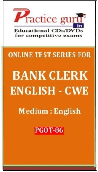 Practice Guru Series for Bank Clerk English ??? CWE Online Test(Voucher)