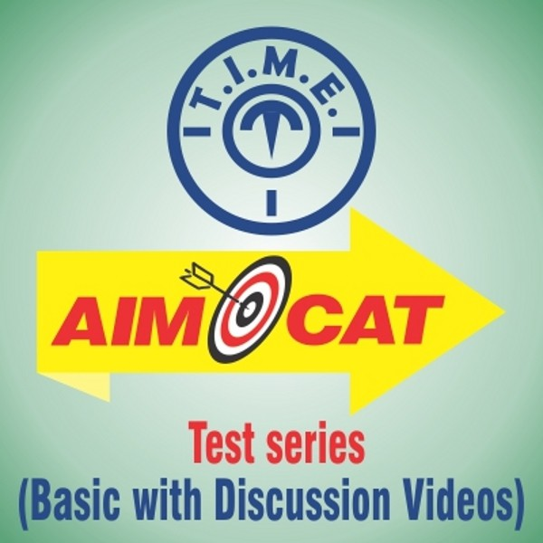 T.I.M.E. AIMCAT Test Series - Basic with Discussion Videos Higher Education(Voucher)