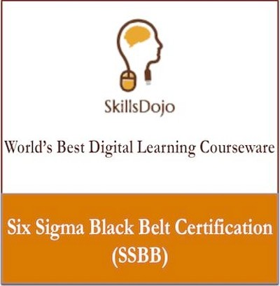 SkillsDojo Six Sigma Black Belt Certification (SSBB) Certification Course(Voucher)
