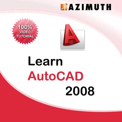 Azimuth Learn AutoCAD 2008 Online Course(Voucher)
